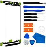 Original Galaxy Samsung Galaxy Note 8 6.3' inch Screen Replacement, Front Outer Lens Glass Screen Replacement Repair Kit for Samsung Galaxy Note 8 6.3' Series (Galaxy Note 8 6.3'- Black)