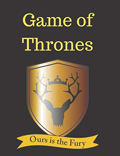 Game Of Thrones: blank lined journal