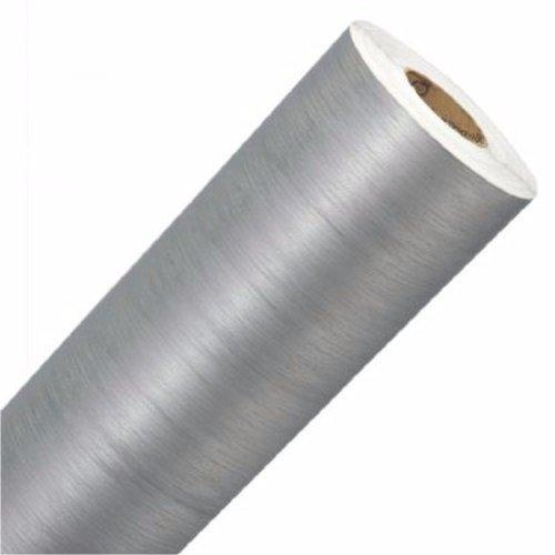 Adesivo Aço Escovado 6 x 1 m - Kit para Geladeira Completa (Adesivo Aço Escovado, 6 x 1 m)