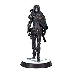"""Official Destiny Product Designed and Manufactured by Numskull Designs Highly detailed 10"""" replica of 'The Stranger' character Figure comes with replica gun strapped to the back Detailed snow base with foot print"""