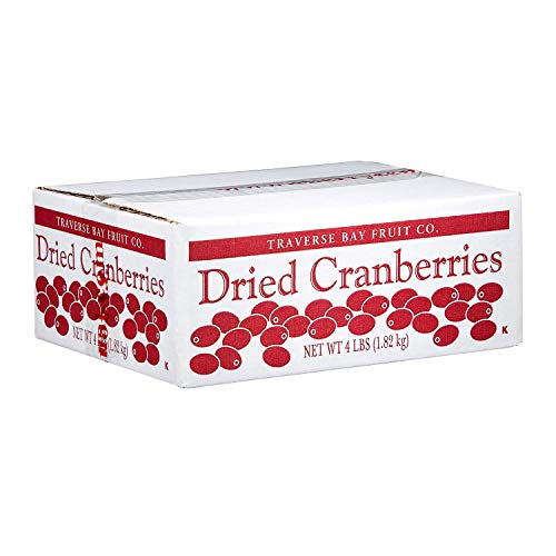 A Product of Traverse Bay Dried Cranberries  4 lb Box