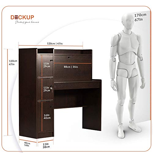 Deckup Versa Office Table and Study Desk