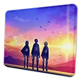 Anime Mouse Pad Gaming Mousepad Non-Slip Mouse Mat for Computer Laptop 7.9x9.5 inch