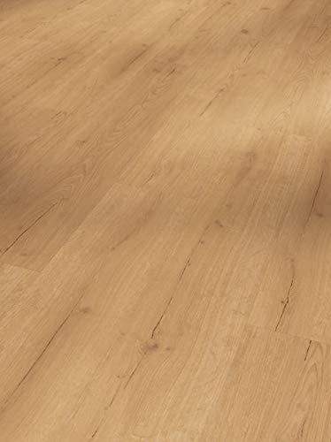 Parador Klick Vinyl Bodenbelag Basic 30 Eiche Infinity Natur Landhausdiele Lebhafte Struktur Synchronpore 1,825m², hochwertige Holzoptik mittel braun 9,4mm, einfache Verlegung