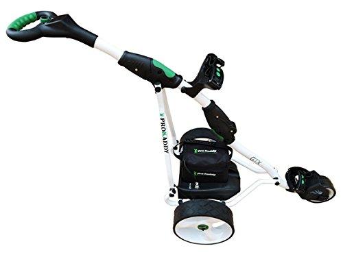 ProKaddy Carro de Golf eléctrico Modelo D3GTX Blanco