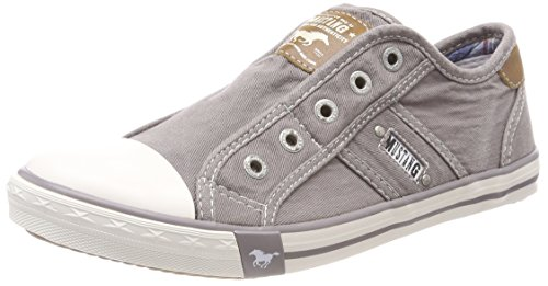 Mustang Damen 1099-401 Slip On Sneaker, Grau (Silbergrau 932), 38 EU