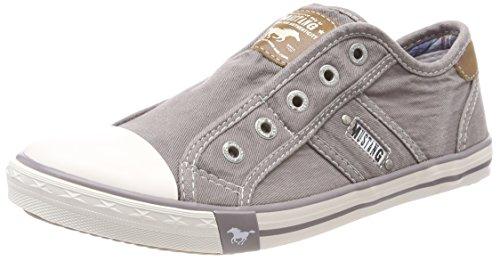 Mustang Damen 1099-401 Slip On Sneaker, Grau (Silbergrau 932), 40 EU