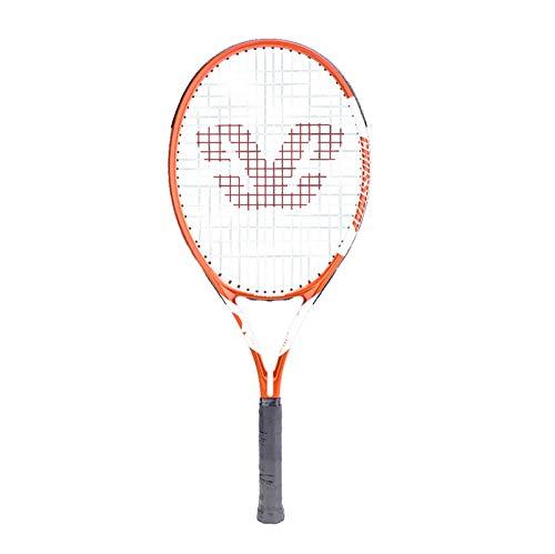 Mikelabo - Raqueta de tenis para césped, color naranja