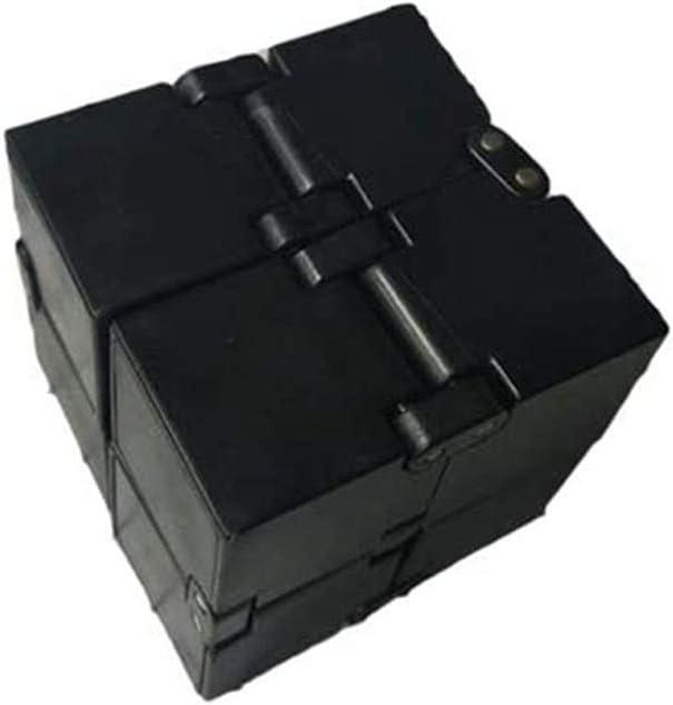 Galaxy Infinito Cube Fidget Juguete Anti Stress Ansiedad para Ni/ños Adultos EDC Juguete Mini ABS Infinity Cube ISAKEN Cubo de la Punta de los Dedos