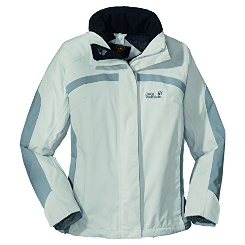 Jack Wolfskin Damen Jacke Topaz Jacket Women, Grey Haze, L, 1000415504