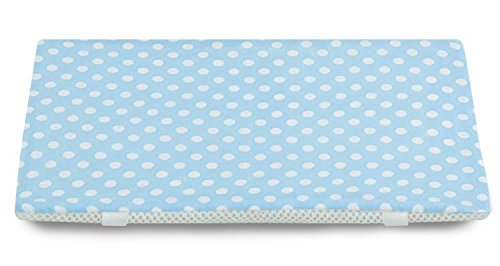 [夏ひんやり&冬ポカポカ] ファインエアー クール 枕用 ドット・ブルー 日本製