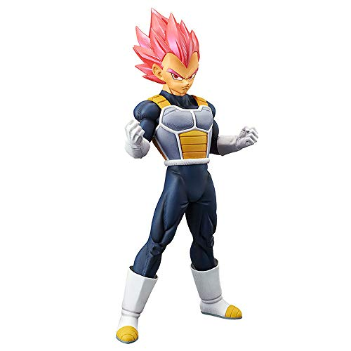 Banpresto 39033/ 10222 Dragon Ball Super Movie Choukokubuyuuden - Super Saiyan God Vegeta Figure
