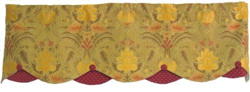 RLF HOME Margaret Petticoat Valance, Cider