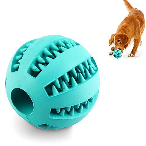 AEITPET Hundeball Snackball aus Naturkautschuk Hundespielzeug Unzerstörbar Ball mit Leckerli befüllbar Hunde Ball futterball für Hunde Kauspielzeug Hundespielball für Hunde (1 Stück)