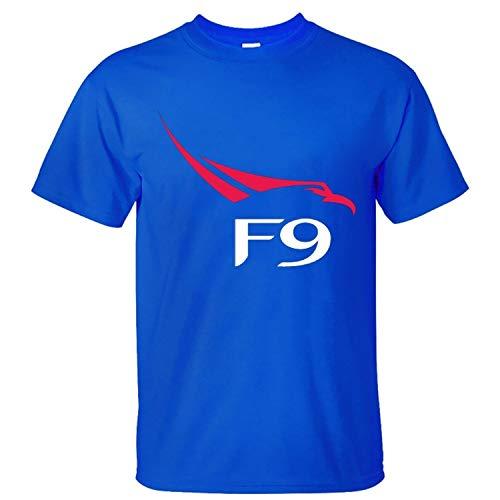 Spacex Falcon 9 Logo Mens Summer Fashion Short Sleeve Round Neck Cool T-Shirt