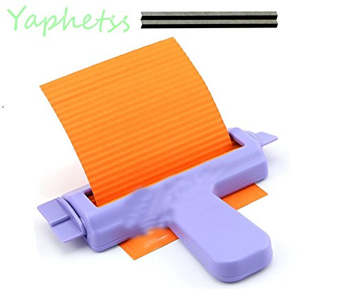 Paper Crimper Crimping Tool, Paper Slip Wave Shaper Making Tool Paper Quilling Papercraft Origami Craft DIY Quilling Supplies Handmade Decor?L?13cm/5.2 InchW?17cm/6.8 Inch Paper Width?11cm/4.4Inch?