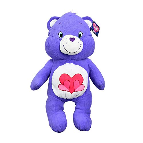 "Care Bears 24"" Plush Stuffed Animal, Harmony Bear (Purple)"