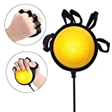 Electric Massage Ball, Heating Compress Hand Massager Ball Massage Hand and Fingers Physiotherapy Rehabilitation (US Plug)