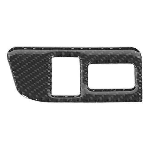 Pegatina para interruptor de maletero, botón de control de maletero de fibra de carbono, cubierta de ajuste, pegatina decorativa para interruptor, apto para Subaru BRZ 2013-2017