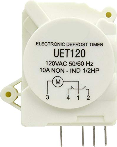 UET120 Fits For SUPCO Refrigerator Defrost Timer Control Universal 120 Volt Electronic