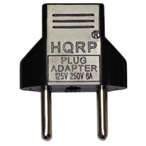 HQRP Replacement AC Adapter/Charger Compatible with JVC GR-D33U / GRD33U Camcorder with USA Cord & Euro Plug Adapter