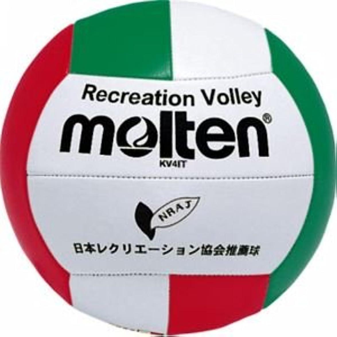 取り出す過言固有のmolten(モルテン) レクリエーションバレー 4号 KV4IT