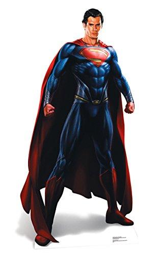 Superman Life-Size Stand-up (Lebensgroßer Pappaufsteller) of Steel (Aufsteller Standup Cardboard Cutout)
