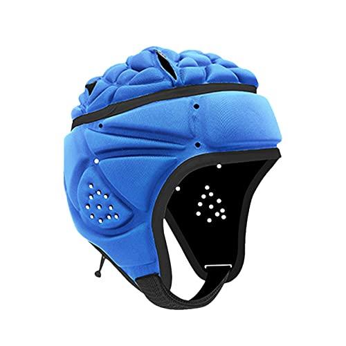 PERFECTHA Casco de fútbol Americano Relleno de Espuma Excelente Material y Tela de poliéster Kits de Rugby de fútbol Que brindan una protección Cabeza