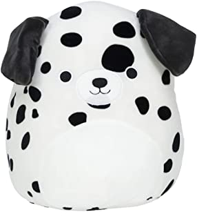 Squishmallows Official Kellytoy Dustin The 16 Inch Dalmatian Dog Squisy Soft Spotted Stuffed Toy Animal