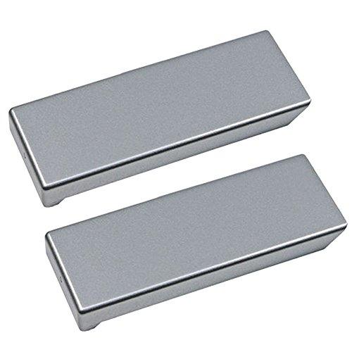 Liebherr Echte Abdeckung für Kühlschrank-/Gefrierschrank-Türgriff, (2Stück, passt für über 2000Modelle)