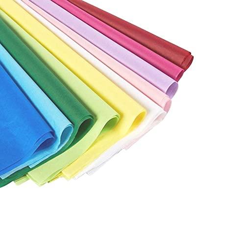 Juvale - Carta velina assortita, 120 pezzi, ideale per sacchetti regalo, artigianato fai da te, colori assortiti, 50x66cm