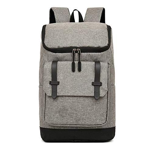 Glqwe Lichte rugzak voor heren, waterdicht, voor zakelijk en casual, USB-belasting, 15-inch laptoptas met grote capaciteit