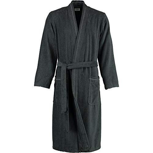Michaelax-Fashion-Trade Cawö - Herren Walkfrottier Bademantel mit Kimono Form in verschiedenen Farbvarianten (4511/GG8136/SG4910), Größe:106/110, Farbe:Anthrazit (774)
