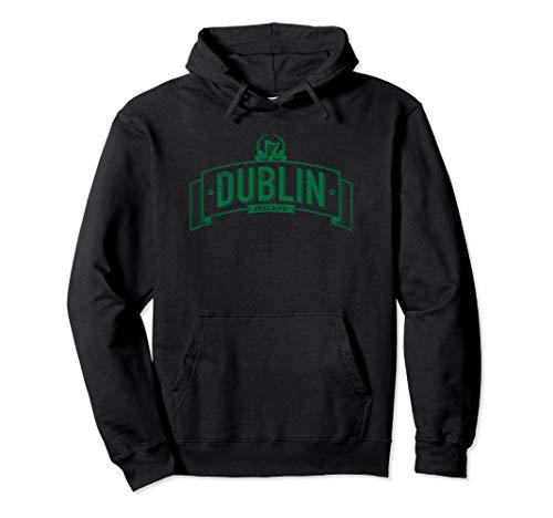 Distressed Dublin Ireland Irish Hoodie