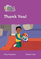 Level 1 - Thank You! (Collins Peapod Readers)