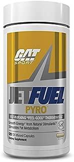 GAT Sport Jetfuel Pyro, Fat-Burning Thermogenic 120 Capsules