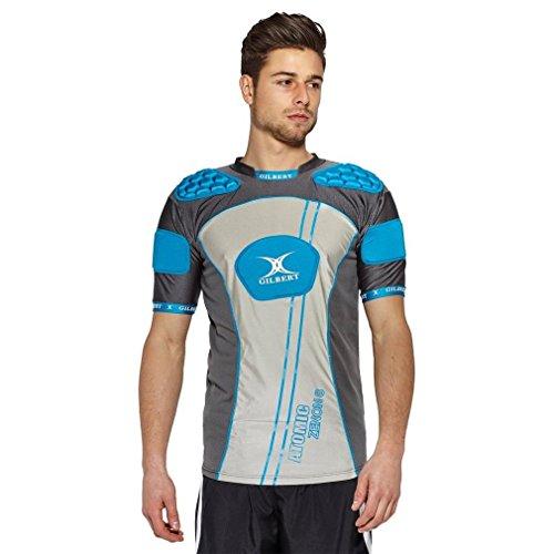 Gilbert Atomic Zenon Body Armour - Blue (Medium)