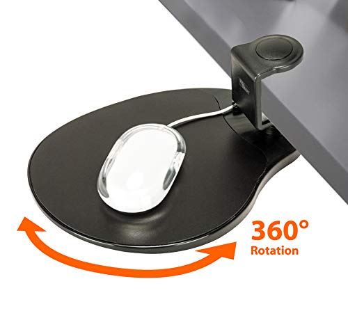 Clamp on Mouse Platform/Clip on Mouse Pad