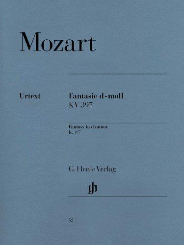 Fantasie d-Moll KV 397 (385g). Klavier