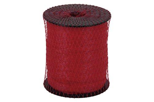 Cofan Rollo Malla Tubular Universal Medida: 100 m x 25 m Color: Rojo