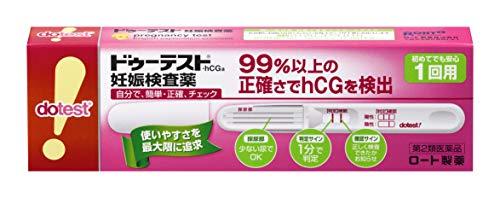 ロート製薬『ドゥーテスト・hCG妊娠検査薬(200962)』