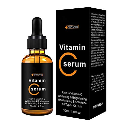 Essence liquid, 30ml Vitamin C Serum Moisturizing Facial Serum for Firming Skin Lightened Skin Tone