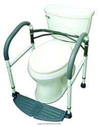 Top 10 Best Selling Toilet Safety Frames And Rails Reviews 2021