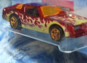 Hot Wheels Detailed Diecast Pontiac Firebird Trans Am -Hot Bird- Dodge Charger SRT8 Police Cruiser - '72 Ford Gran Torino Sport 1/64 Scale
