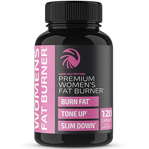 Nobi Nutrition Fat Burner for Women - Weight Loss Diet Pills, Carb Blocker, Metabolism Booster & Appetite Suppressant - Thermogenic Weight Loss Pills for Women