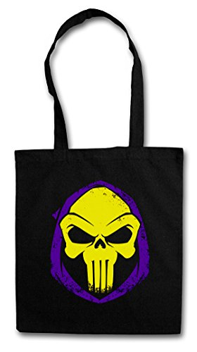 Urban Backwoods PUNISHOR Bolsas de la Compra Reutilizables – Skull Punisher Skeletor...