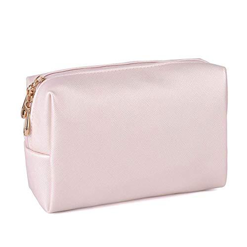 enioysun Neceser Bolsa de Almacenamiento de Aseo de Viaje portátil Bolsa de Cuero Cosméticos Bolsa de Cremallera Impermeable Bolsa de Gran Capacidad Cosmetic Bag