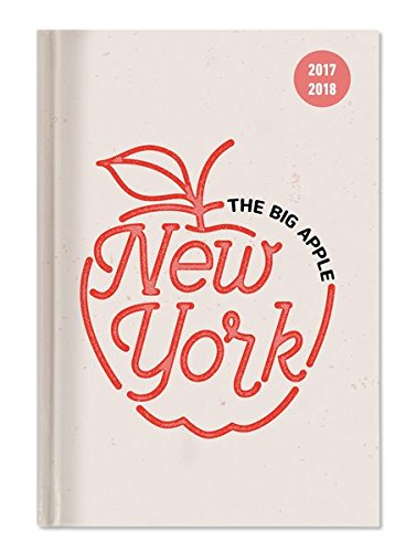 """Diario agenda scuola collegetimer """"New York"""" 2017/2018 - Giornaliera - 352 pagine - 15x21 cm"""