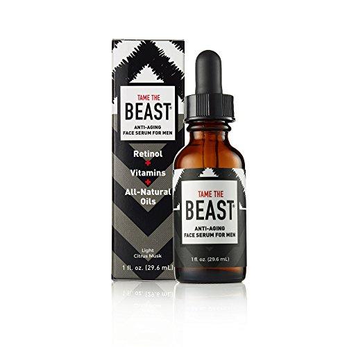 Tame the Beast Anti envejecimiento cara suero - vitaminas cuidado de la piel c, a, e, anti arrugas, aceites naturales de espino amarillo