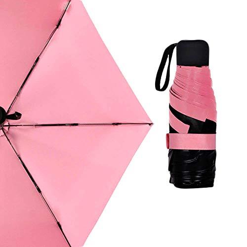 Paraplu opvouwbare paraplu's opvouwbare paraplu zon paraplu zak paraplu duurzame waterdichte doek 3 kleuren aluminium legering draagbare hoeden huis meubelen